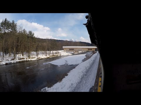 Episode 1 - Winter Freight Hopping - Rutland to Bellows Falls (2019)