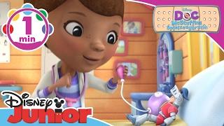 Zeit sich untersuchen zu lassen! ♫ Doc McStuffins ♫ | Disney Junior Musik