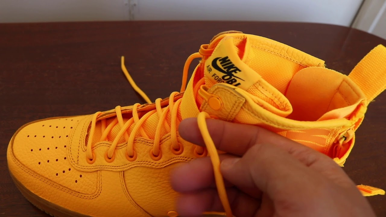 OBJ x Nike SF AF1 Mid: Sneaker Review - YouTube