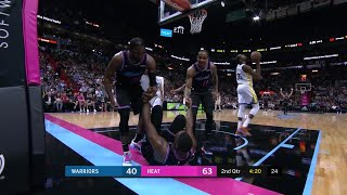 2nd Quarter, One Box Video: Miami Heat vs. Golden State Warriors