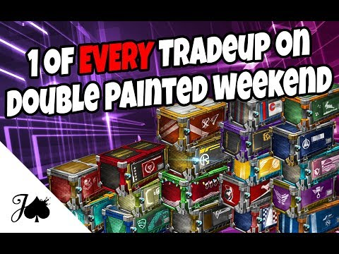 1 Tradeup of EVERY TYPE in Rocket League, on Double Painted Weekend!! thumbnail