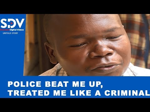 Police manhandled me like a criminal, yet I wanted to see President Uhuru |TEARS OF FRUSTRATION