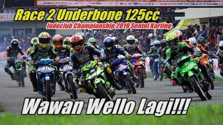 Download Video Wello Balas Dendam di Race 2 Underbone 125CC Open Indoclub Championship 2019 Sentul Karting MP3 3GP MP4