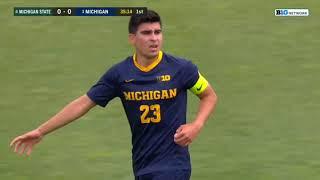 Men's Soccer - 2020/2021 Big Ten Tournament Quarterfinal - Michigan vs Michigan State 04-10-2021