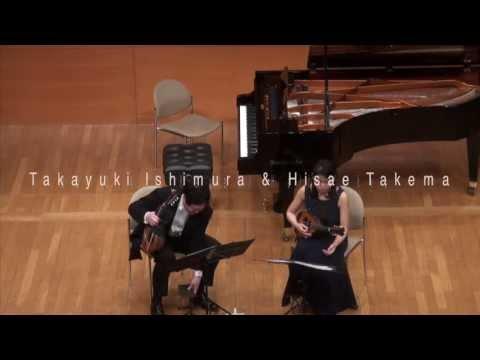 Fridzeri 'Duo pour deux Violons Concertant,op.7-2' / Takayuki Ishimura  & Hisae Takema