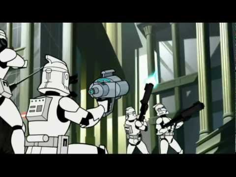 Star Wars Clone Wars Cartoon Vol.1 Ep1