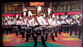UMass Minuteman Band in Macy's Thanksgiving Day Parade 2013