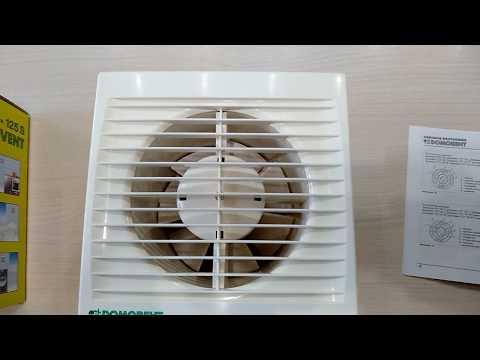 Вентилятор вытяжной с таймером задержки выключения изменение конструкции