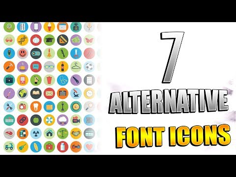 7 Alternatives To Font Awesome Icons | #codingphase