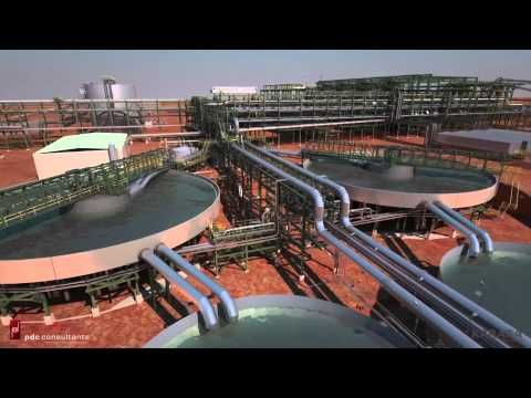 Karara Magnetite Process Plant Animation