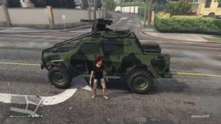 GTA 5 - Comparing Insurgent Custom Machine gun vs .50 Cal Minigun