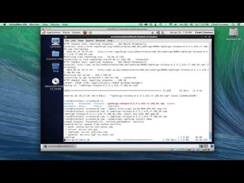 003 - CentOS 6.5 VirtualBox Snapshots and Guest Additions