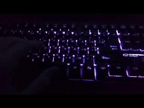 Клавіатура дротова Esperanza Wired EGK601 Iluminated USB UA (EGK601UA)