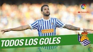 Todos los goles de la Real Sociedad en LaLiga Santander 2017/2018