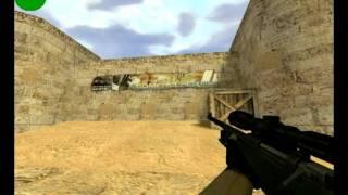 cs 1.6 видео урок про стрельбу из awp без зума