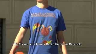 BARANEK beat Guinness World Record in Fastest Ball Handling  *promo*