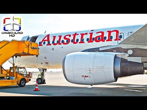 TRIP REPORT | Austrian | BEST Economy Class In Europe? ツ | Vienna To Frankfurt | Airbus A320