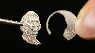 The Tiny Art of Coin Cutting