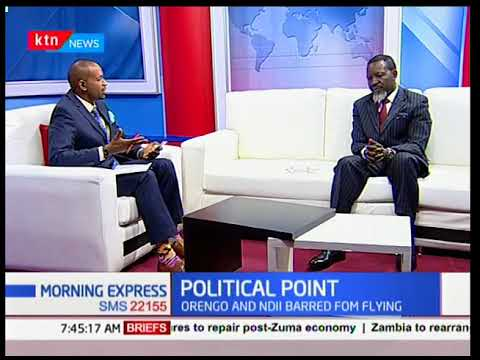 Morning Express - 20th February 2018 - POLITICAL POINT: Discussion on Growth of Kenyan Parties