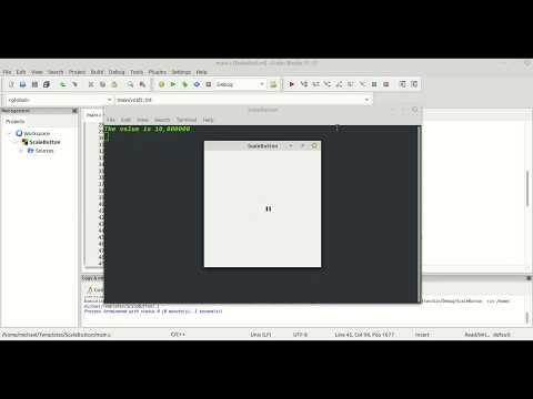 GTK3 CSS C Language Tutorial 102 ScaleButton Part 03 thumbnail