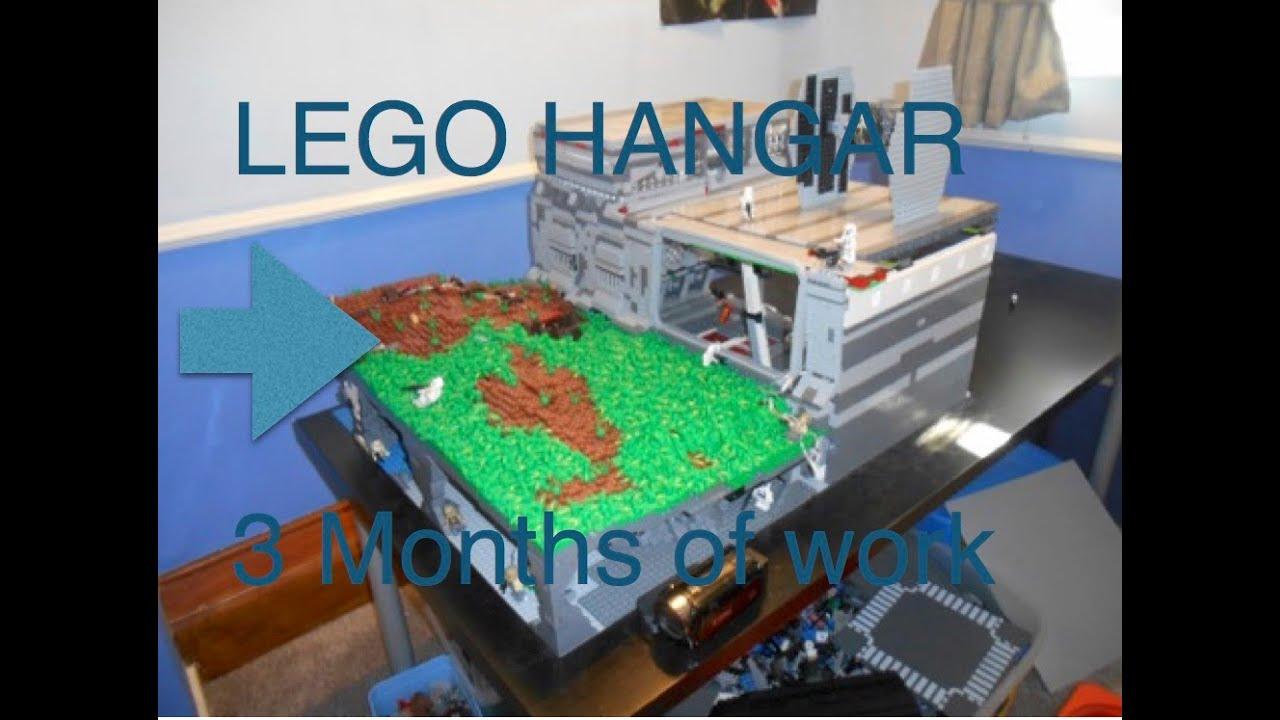 LEGO Star Wars Base/Hangar on Naboo (HUGE) - YouTube