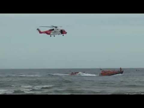 [HD1080p50] Irish Coast Guard Sikorsky S-92 @ Newcastle Festival of Flight 2015