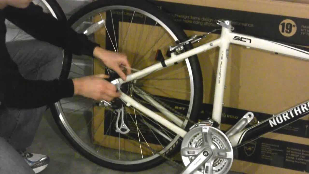 d26c9686310 Assembly Guide - Northrock SC7 Comfort Bike - by Northrock Bikes ...