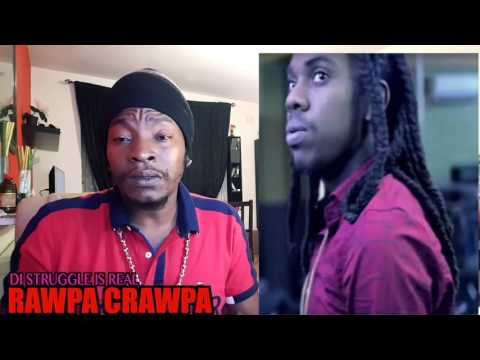 Jahmiel - Bad Dawg ( Version & Popcaan Diss) Rawpa Crawpa Review