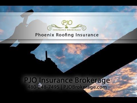 Phoenix Roofing Insurance By PJO Brokerage