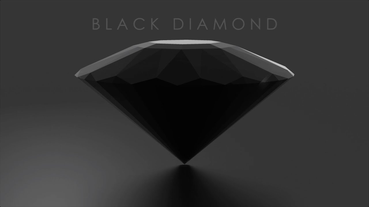 black worktop diamond x stone jewellery m