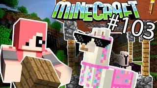 Minecraft - НОВЫЙ ДОМИК ДЛЯ ЛАМ | КАК СДЕЛАТЬ (Серия 103)