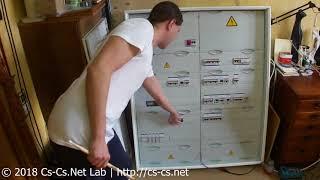 Cs-Cs: Щит в дом в Томилино с УЗИП и АПВ УЗО ABB F2C-ARH (обзор)