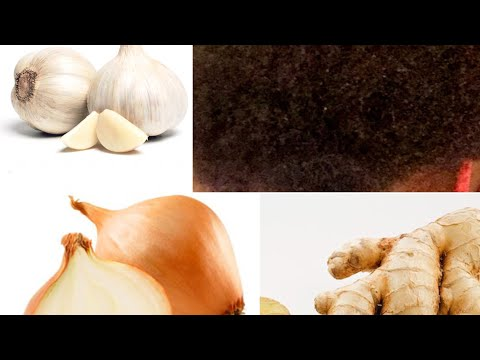 Onion, garlic and ginger mix for HAIR GROWTH!! FULL, HEALTHY