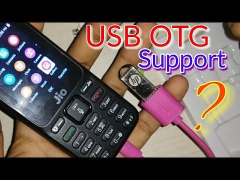 Jio 4G Phone OTG Support ?? TECH VIDEO