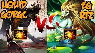 Gorgc Lifestealer vs Arteezy Naga Siren - High MMR Gameplay