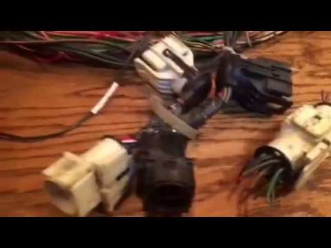 ford 5 0 efi harness engine/main connector elimination