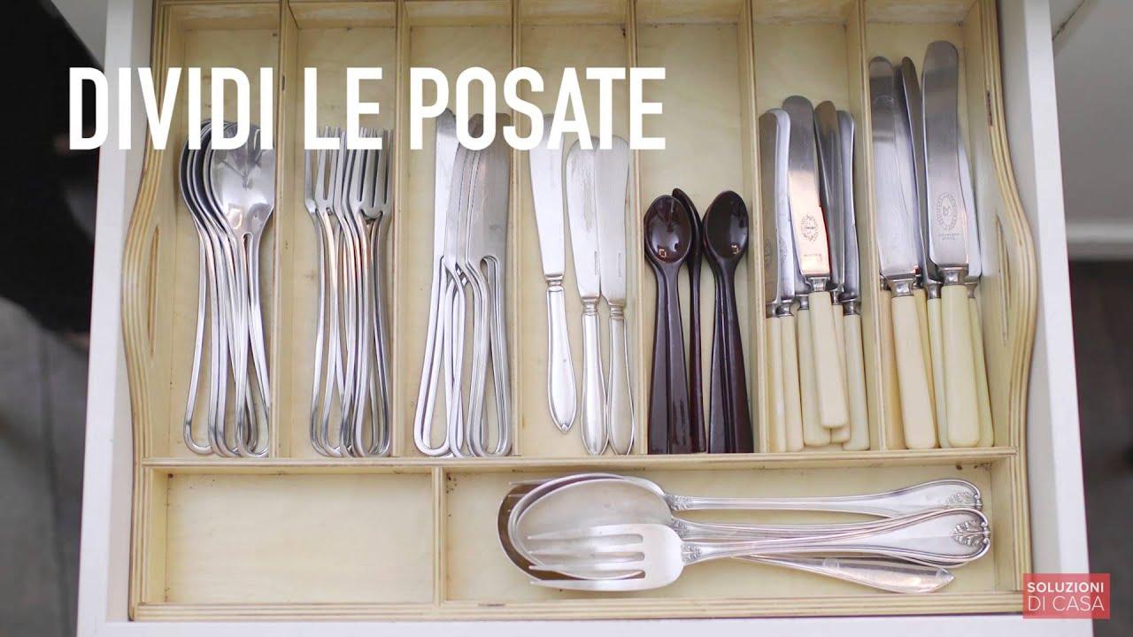 Come Ordinare I Cassetti Del Bagno : Come ordinare e pulire i cassetti youtube