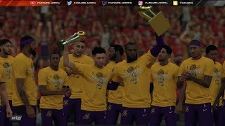 NBA 2K19 MyCareer - NBA Finals Champions! What Happens When You Win The NBA Championship!
