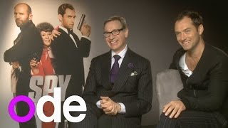 Jude Law and Paul Feig on their new movie Spy, playing Bond and porn star names