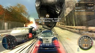 Need for Speed: Most Wanted Black Edition PS2 Gameplay HD (PCSX2)