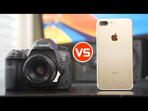 Depth of Field Comparison - iPhone 7 Plus vs Canon 5D Mark iV