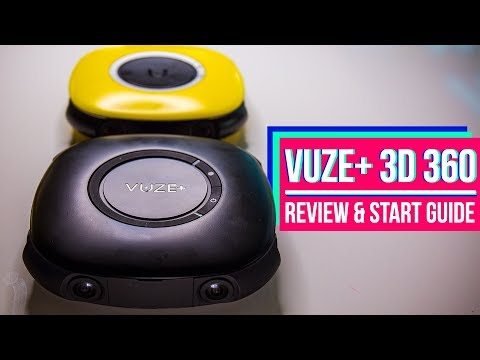 Vuze+ 3D 360 VR Camera Unbiased Review, Unbox, & Complete Start Guide
