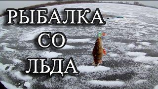 Рыбалка со льда с друзьями