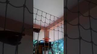 How to a volleyball net making