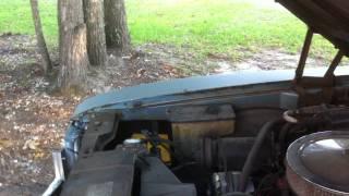 1971 Buick Skylark 350 Motor Running