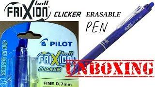 Pilot friXion (Erasable) pen ✍🖋 Unboxing.