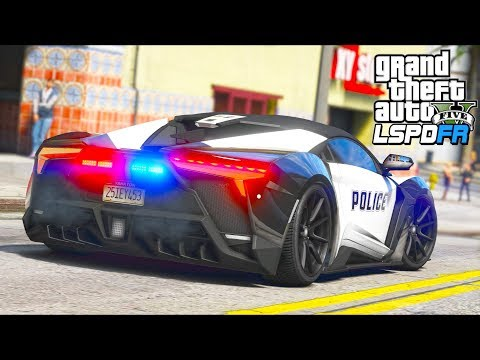 You'll NEVER Believe How FAST This Police Supercar Is!! (GTA 5 Mods – LSPDFR Gameplay)