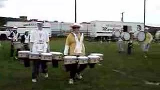Shikellamy Drumline Warmup 08