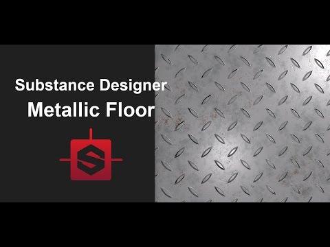 Let's learn Sustance Designer 5 - Metallic Floor Tutorial