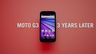 Moto G3 (2015) - 3 years later  // Long term review